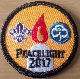 International Peace Light Badge